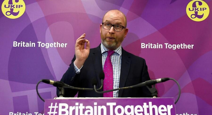 Leeren af UKIP, Paul Nuttall REUTERS/Clodagh Kilcoyne