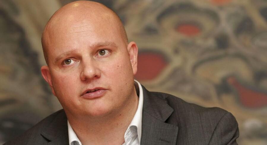 Lars Steffensen var tidligere i spidsen for hedge-fonden Ebullio før den gik konkurs. Nu vil han rejse en god halv milliard i jinbicoin. Arkivfoto