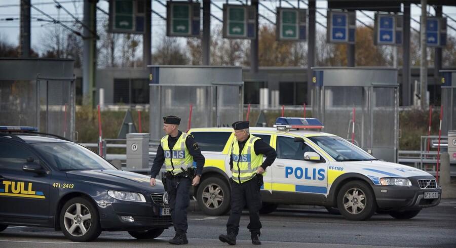 En formodet kidnapning af en svensk teenagepige førte tirdag til en stor politiaktion. Arkivfoto.
