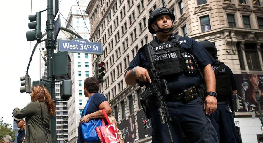 En mand fra New Jersey er fundet skyldig i at have plantet to bomber i New Yorks Chelsea-bydel i september 2016.