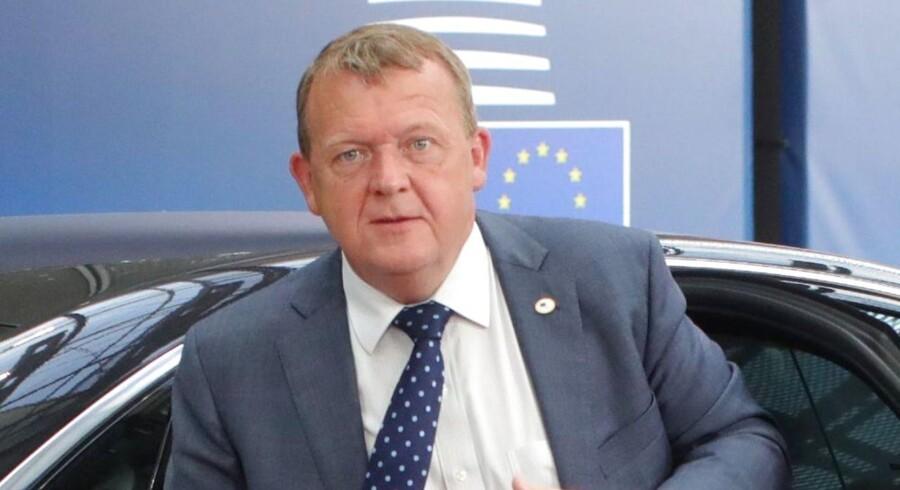 Arkivfoto. Løkke: EU må skære ned efter Storbritanniens exit