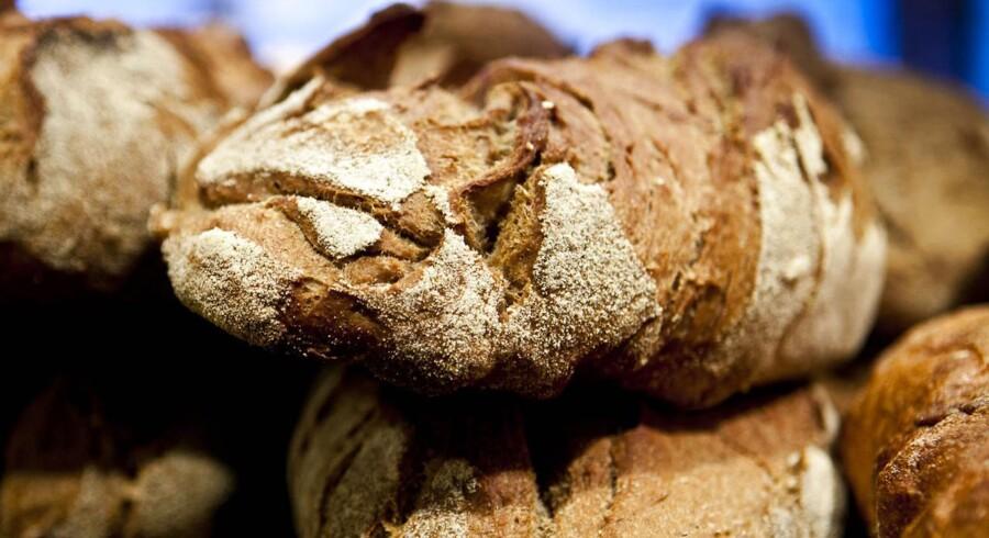 Priserne på brød kan risikere at stige, hvis kornleverancerne fra Ukraine bliver ramt som følge af den poltiske uro.
