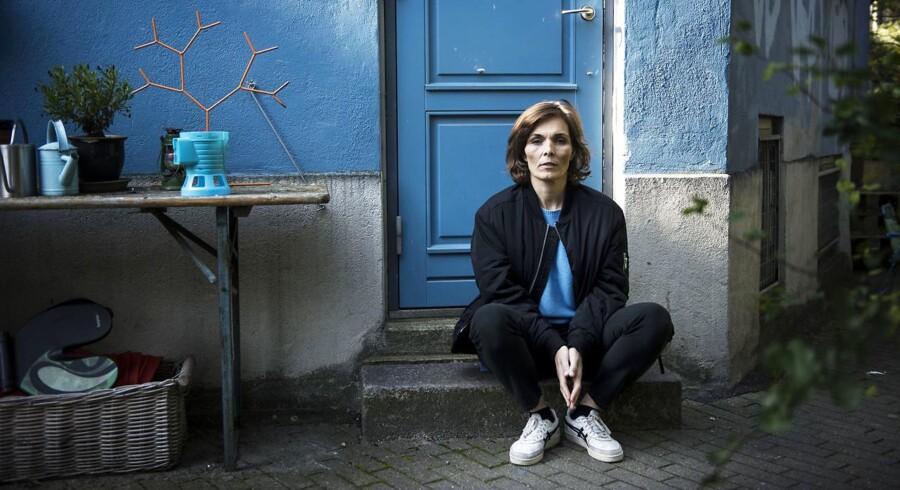 """Anne Lise Marstrand-Jørgensen er aktuel med romanen """"Sorgens grundstof""""."""