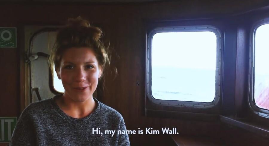 Familie og venner har lavet mindevidoen 'Remembering Kim Wall.'