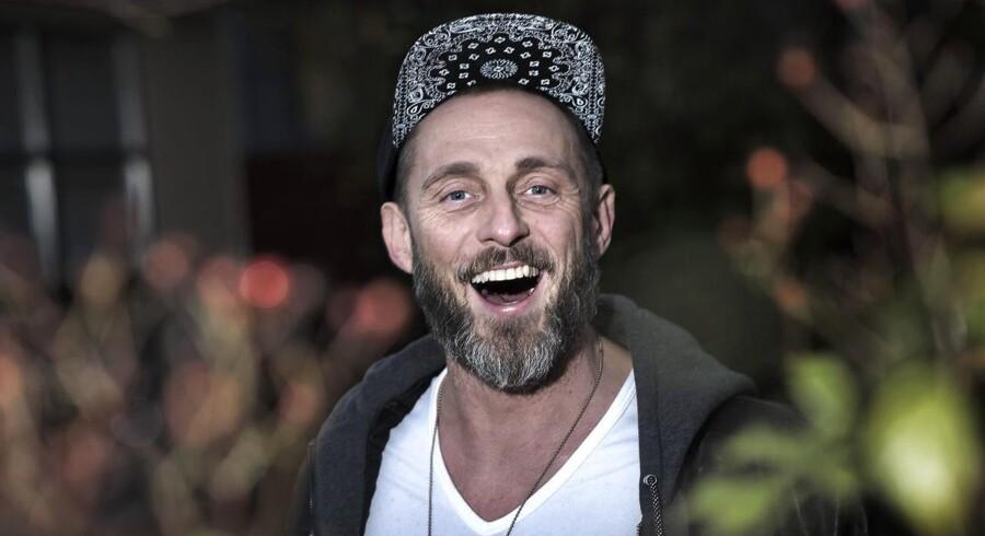 Roland Møller er blevet tilbageholdt på vej til Oscar-fest