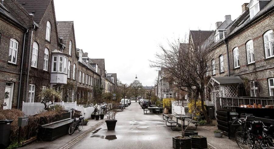 I det indre København og på Frederiksberg C er der således gennemført 199 handler af villaer og rækkehuse siden midten af 2011.