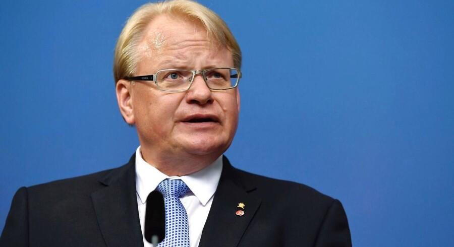 Arkivfoto. Sveriges tilfører forsvaret ekstra 2,7 milliarder svenske kroner om året over de næste tre år.