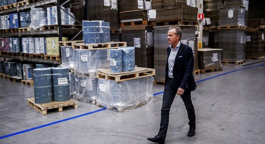 Direktøren i Royal Unibrew, Henrik Brandt, fotograferet i koncernens bryghaller fredag den 25. september 2015.