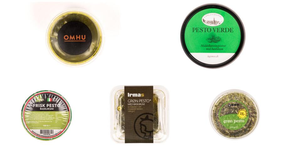 Man tager en omgang frisk basilikum og blender med en god olivenolie, pinjekerner, eventuelt lidt hvidløg og parmesan, grana eller pecorino. Så nemt er det at lave en god grøn basilikumpesto! Er der så nogen grund til at købe en færdiglavet? Ikke ifølge B Søndags smagsdommere, der har testet fem forskellige slags pesto fra køl.