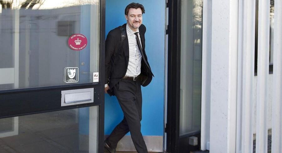 (ARKIV) Departementschef Ulrik Vestergaard Knudsen.