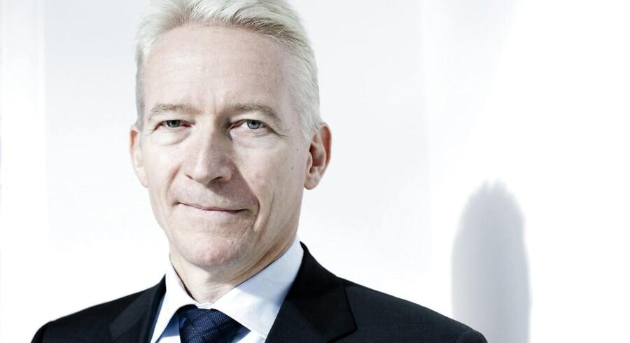Coloplast-topchef Lars Rasmussen er begejstret for udviklingen på det britiske marked.
