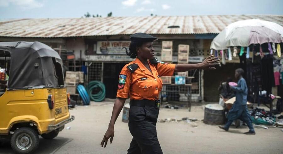 Arkivfoto: En kvindelig selvmordsbomber har dræbt 13 personer i den nordøstlige nigerianske by Maiduguri søndag. Det skriver nyhedsbureauet AFP.