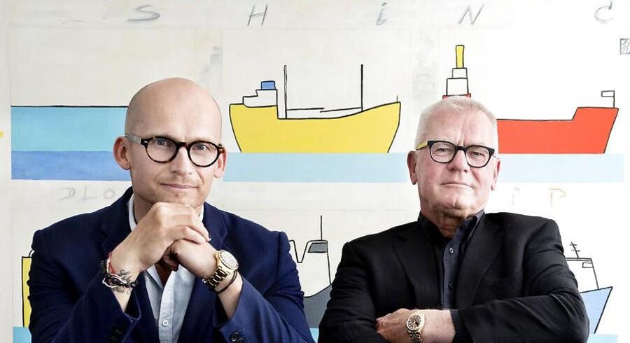 Christian og Thor Stadil (th) skabte for godt 20 år siden Thonico, som i dag omsætter for mere end 7,5 milliarder kr. Nu drømmer de om at nå en omsætning på 10 milliarder kr. om få år, fortæller de til Berlingske.