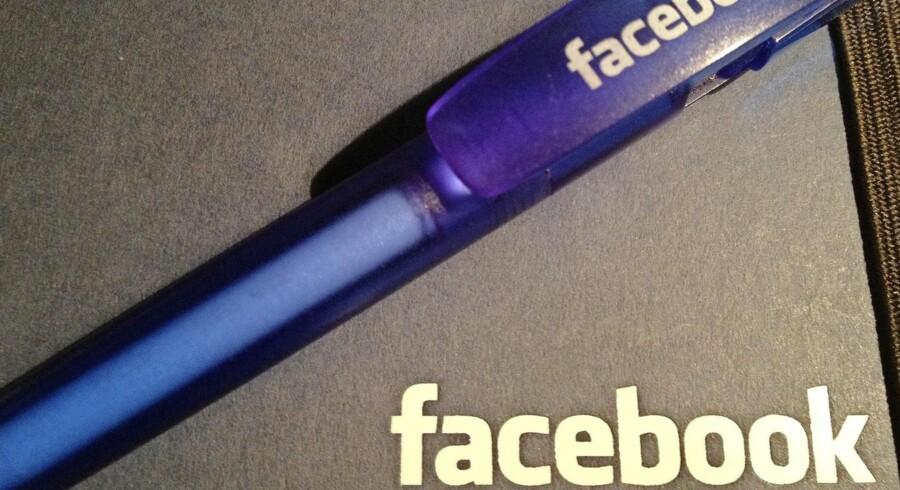 Facebook er en særdeles vigtig salgskanal for ejendomsmæglere. Foto: Sarah Marshall
