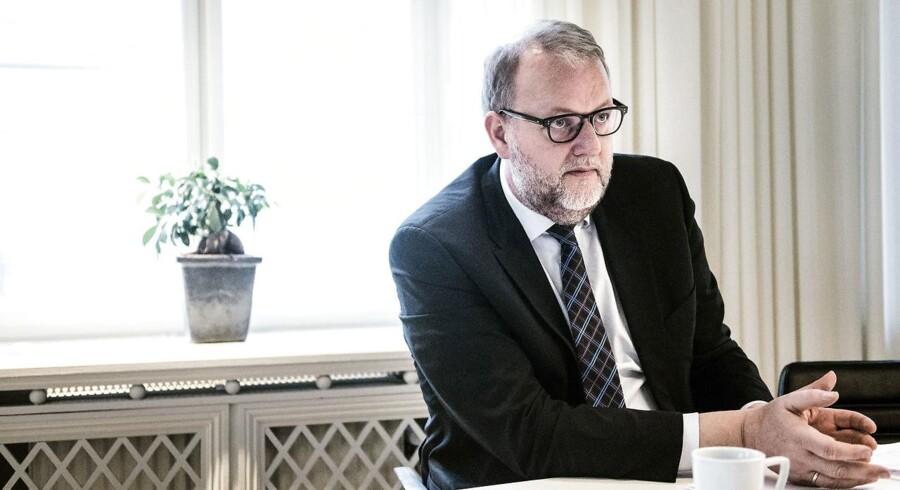 Arkivfoto: Klima- og energiminister, Lars Christian Lilleholt (V).