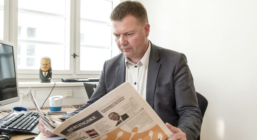 »Det er på mange måder ærgerligt, for TV 2 Business-kanalen har slet ikke været et dårligt projekt eller en dårlig idé,« siger Berlingskes ansvarshavende chefredaktør Tom Jensen.