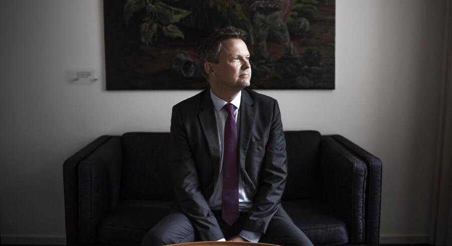 Portræt af bankernes lobbyist; Ulrik Nødgaard, der er direktør i Finansrådet.