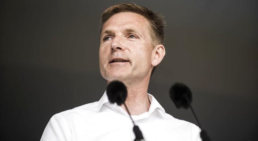 Muslimske regeringer og rigmænd må ikke længere sende penge til at bygge moskéer i Danmark. Finansiering udefra skal forbydes. (Foto: Ida Marie Odgaard/Scanpix 2017)