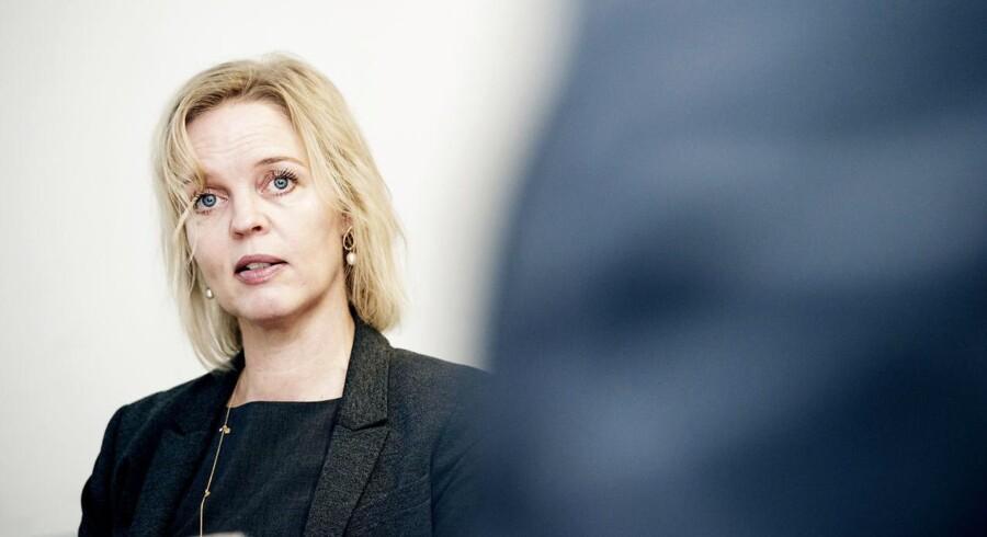 »Vi bruger 2016 på at komme i bedre form til 2017,« siger TDCs topchef, Pernille Erenbjerg, som glæder sig over den tilsyneladende våbenhvile på mobilområdet. Arkivfoto: Erik Refner, Scanpix