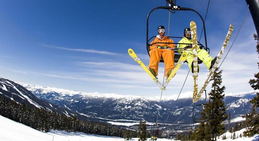 Dave Murray Downhill, Whistler i British Columbia, USA.