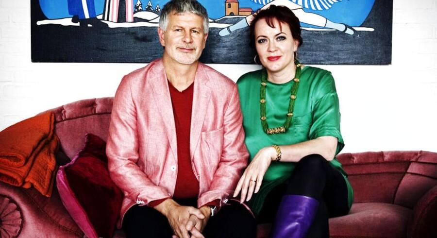 Forretningsparret Mette Rode og Bengt Sundstrøm må konstatere, at salget i hjertebarnet Lauritz.com dykker sammen med indtjeningen.