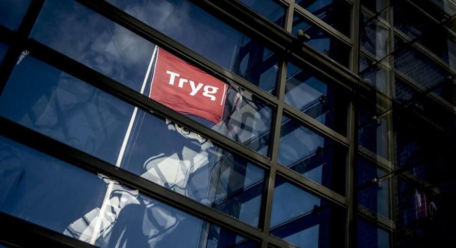 Trygs hovedkontor i Ballerup, mandag den 9. oktober 2017. Forsikringsselskabet Tryg A/S kommer i dag, tirsdag, med årsregnskab for 2017.