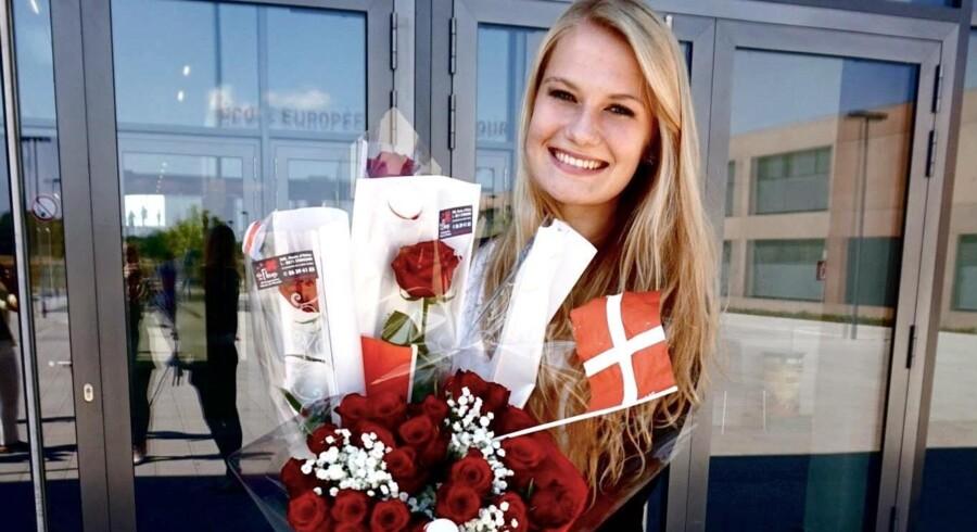 »Danske studerende, der knap kan bestille deres frokost på engelsk, kan stadig få 12 i engelsk-eksamen hjemme i Danmark,« mener Aline Harbeck. Privatfoto