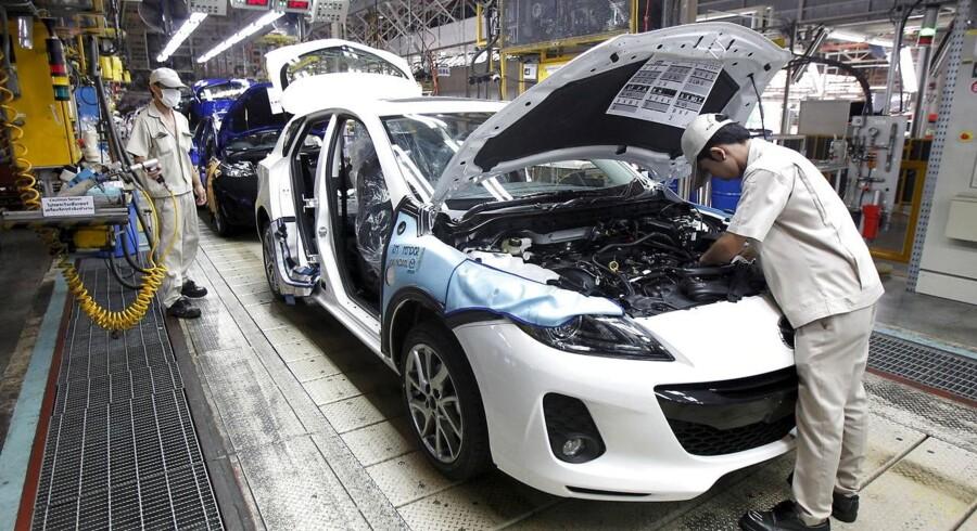 1,8 millioner af bilerne er solgt uden for Japan, oplyser en talskvinde fra Mazda. 400.000 er solgt i bilproducentens hjemland.
