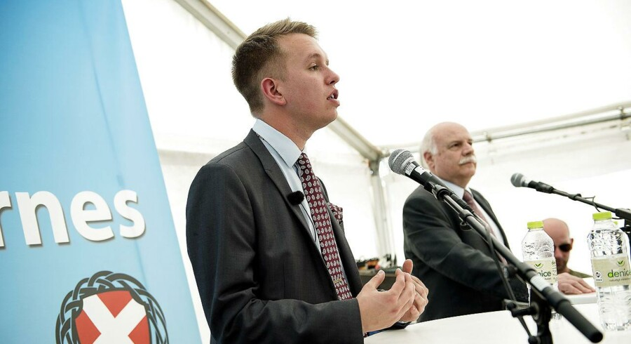 En ny Gallup-måling viser, at omkring hver sjette overvejer at stemme på Daniel Carlsens (billedet) nationalistiske parti, Danskernes Parti, ved næste folketingsvalg.