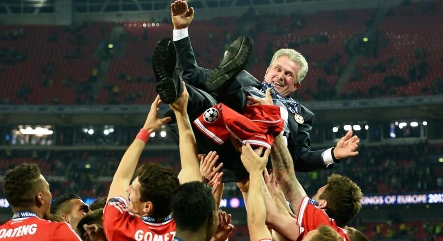 Den 72-årige tysker Jupp Heynckes skal være cheftræner for Bayern München i resten af denne sæson, meddeler den tyske storklub.