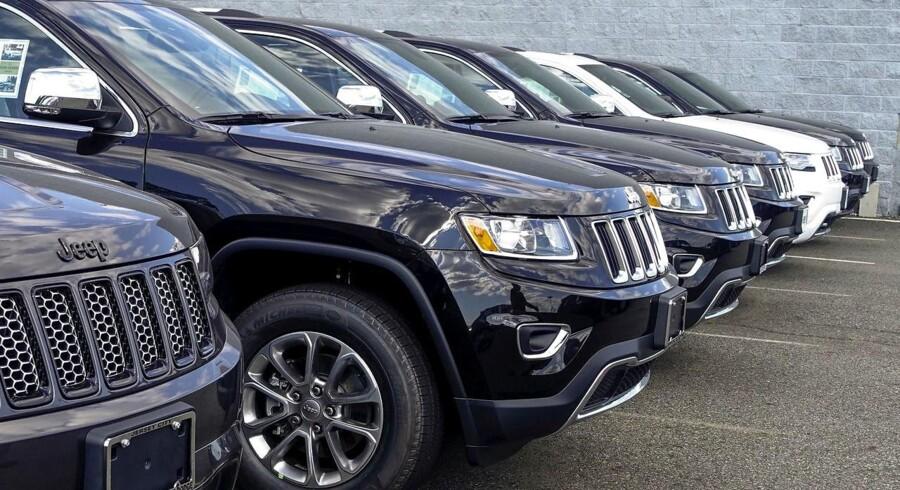 Fiat Chrysler står blandt andet bag Jeep Grand Cherokee som mistænkes for dieselsvindel i USA