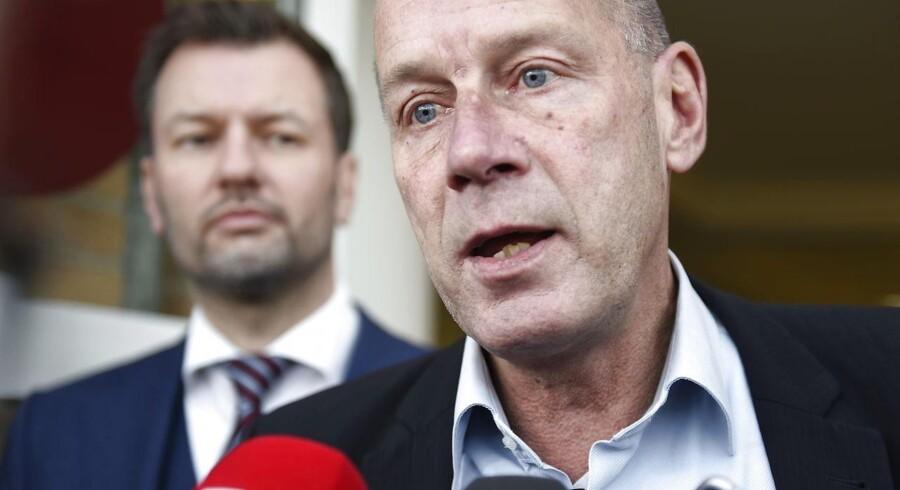 Tidligere Chefredaktør på Se og Hør, Kim Henningsen efter dommen i Retten i Glostrup 24. november 2016. (Foto: Liselotte Sabroe/Scanpix 2016)