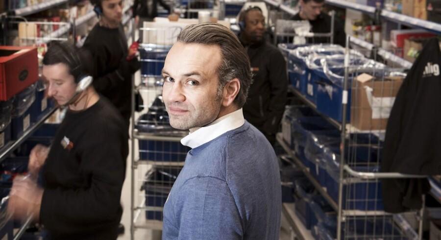 Stifter, ejer og adm. direktør Stefan Plenge i Nemlig.com