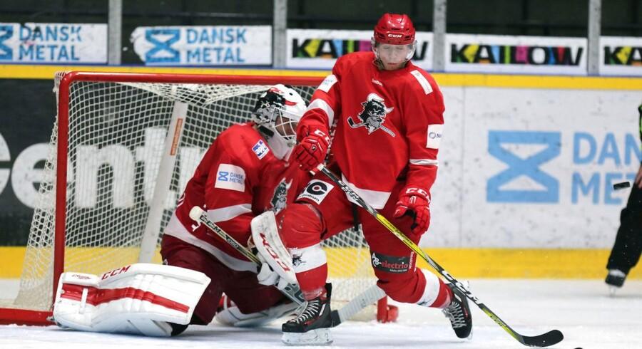 Det bliver med sjællandske ishockeybriller nogle drabelige dueller, der venter mellem Rødovre og Rungsted.