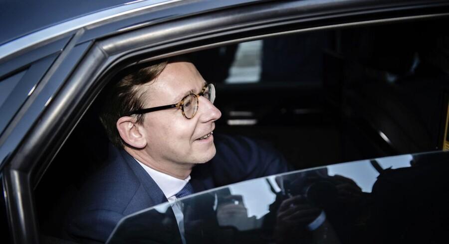 Skatteminister Karsten Lauritzen har åbnet for dialogen med KFI Erhvervsdrivende Fond, som kommer i klemmen i en ny skatteregel for erhvervsdrivende fonde.