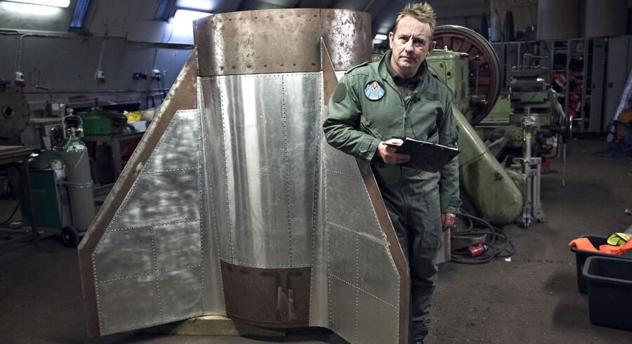 Peter Madsen i Raket Madsens Rumlab.