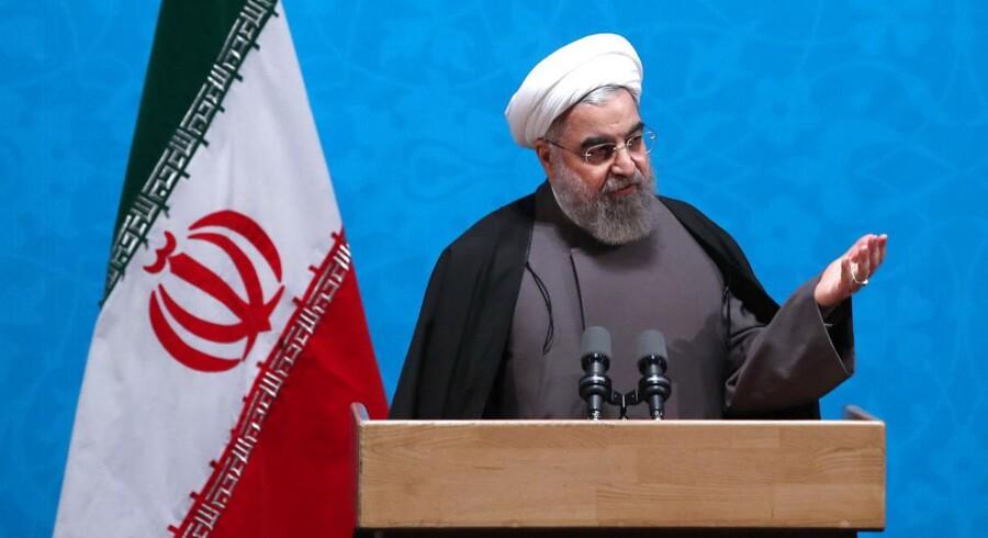 ARKIVFOTO: Den iranske præsident Hassan Rouhan