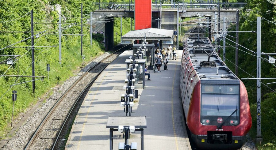 ARKIVFOTO: Husum Station er en station på Frederikssundbanen, og er dermed en del af Københavns S-togs-netværk.