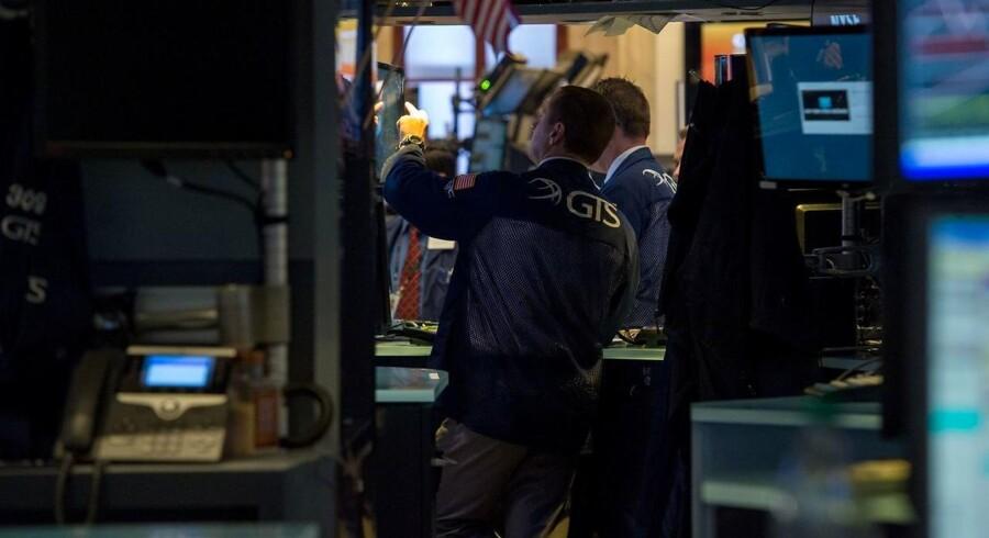 Arkivfoto. A.P. Møller-Mærsk tager teten på det danske aktiemarked mandag, hvor stemningen overordnet set er positiv på de europæiske børser.