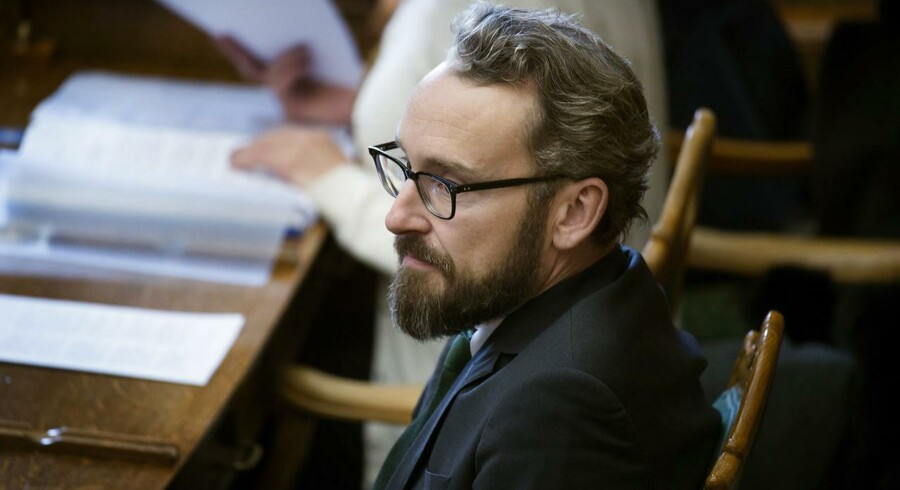 Transportminister Ole Birk Olesen (LA)