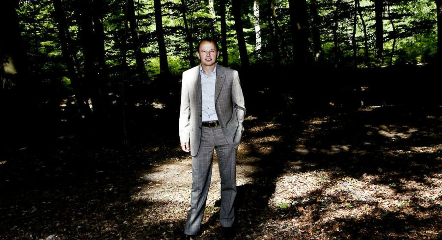 Michael Moesgaard Andersen, som var med til at stifte mobilselskabet CBB og siden sælge det til Telenor, afviser at ville trække sig ud af det danske softwareselskab Configit, som han ser store fremtidsmuligheder i. Arkivfoto: Benita Marcussen, Scanpix