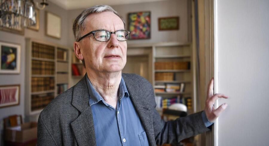 Akademiets midlertidige leder, Anders Olsson.