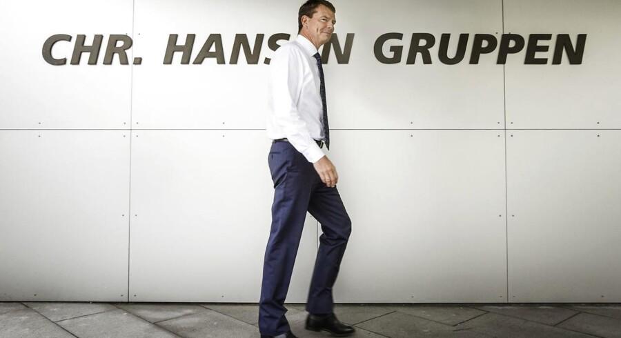 Cees de Jong stopper som direktør for Chr. Hansen. Det fortæller selskabet i en meddelelse tirsdag morgen.