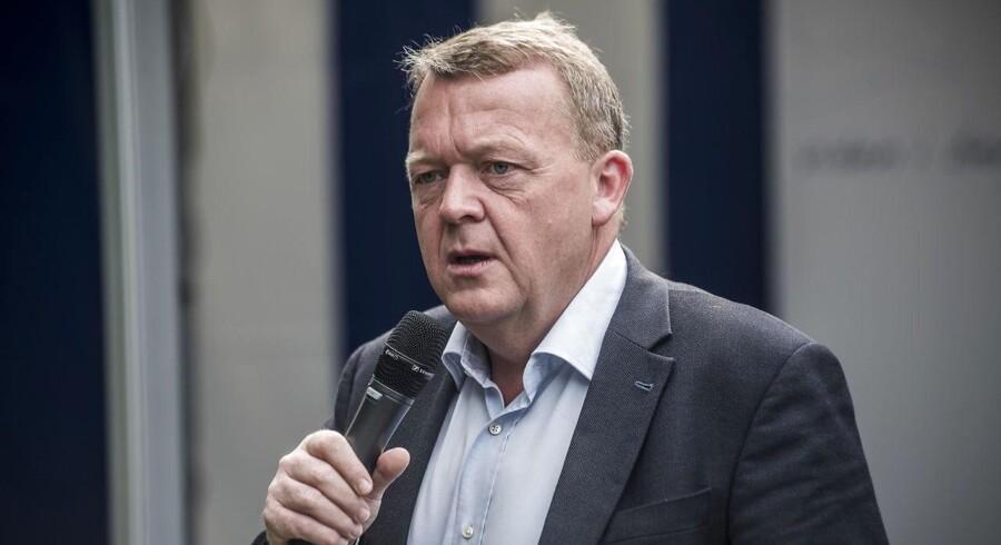 Statsminister, Lars Løkke Rasmussen.