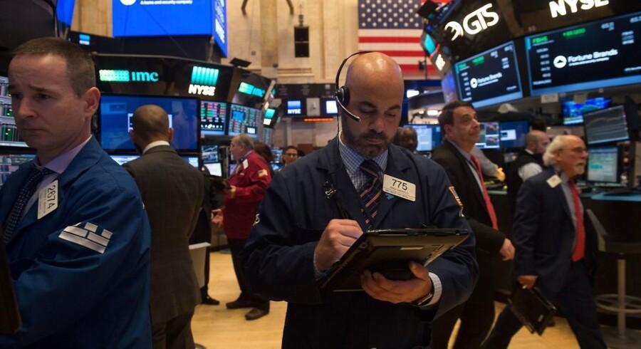 Arkivfoto. Det amerikanske aktiemarked sluttede overordnet sidste uge af i beskedent positivt terræn, og mandag morgen ser udviklingen ud til at holde ved i den asiatiske handel.