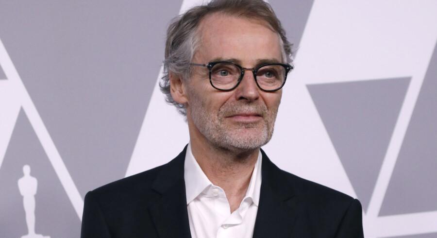 Dan Laustsen kan vinde en Oscar, når det går løs natten til mandag dansk tid. Reuters/Mario Anzuoni