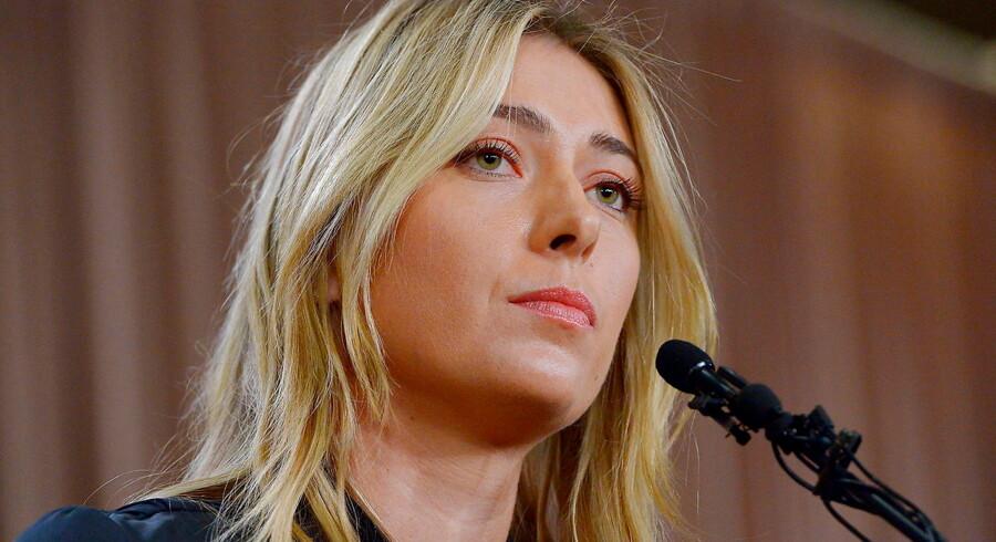Mandag 7. marts indrømmede Sharapova at have taget meldonium