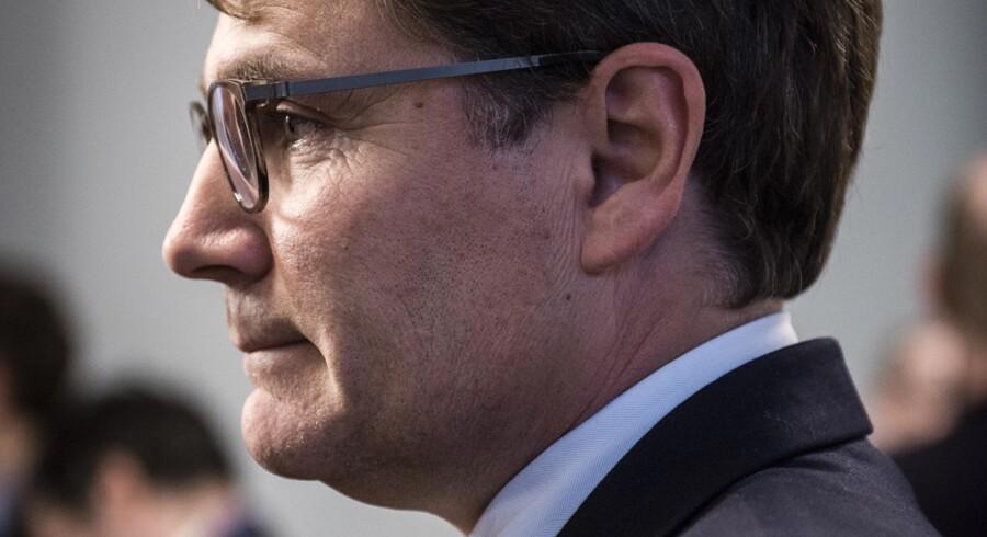 »Vindenergi er faktisk ikke et politisk slagsmål i USA«: Erhvervsminister Brian Mikkelsen (K) er netop vendt hjem fra USA og har dér set et vind-møllemarked i hastig udvikling. Arkivfoto: Thomas Lekfeldt