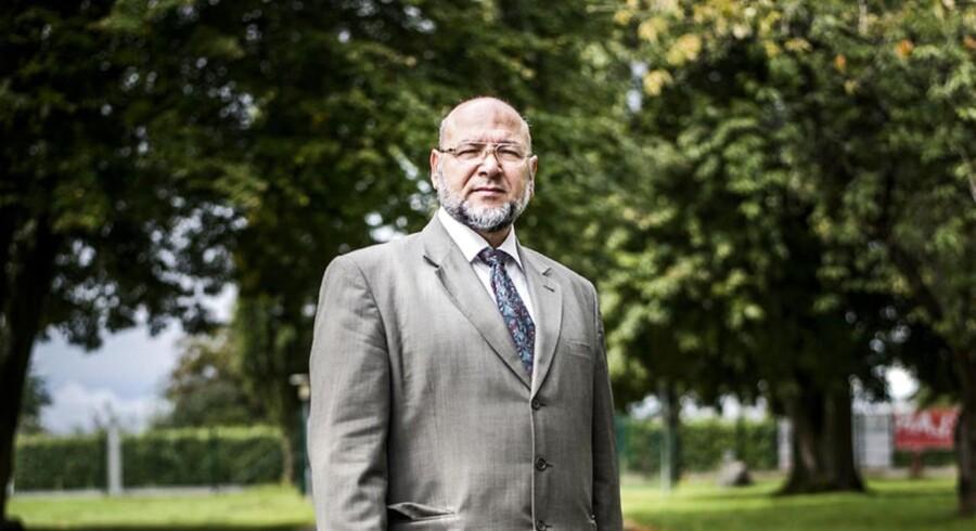 Mohammed al-Khaled Samha - også kendt som Abu Bashar - står i spidsen for Familie Fonden, der holder til på samme adresse som den muslimske friskoler Roser Skolen i Odense.