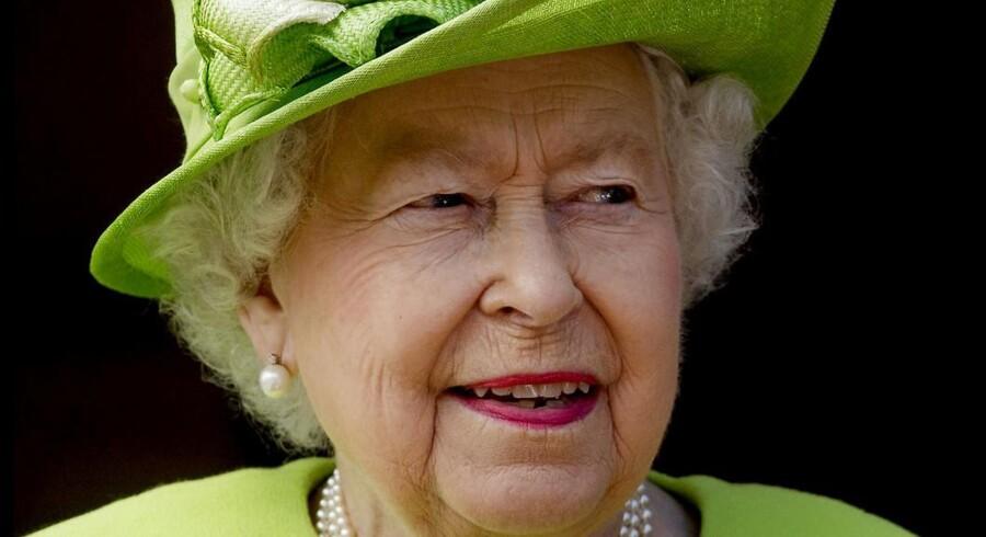 Dronning Elizabeth.Scanpix